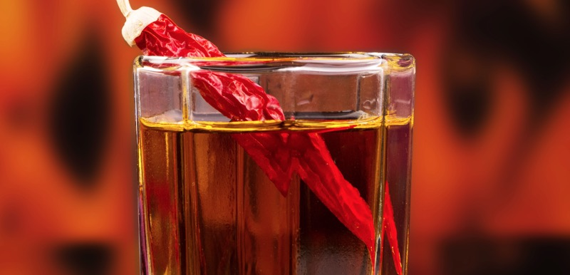 Spicy beverage liquidate