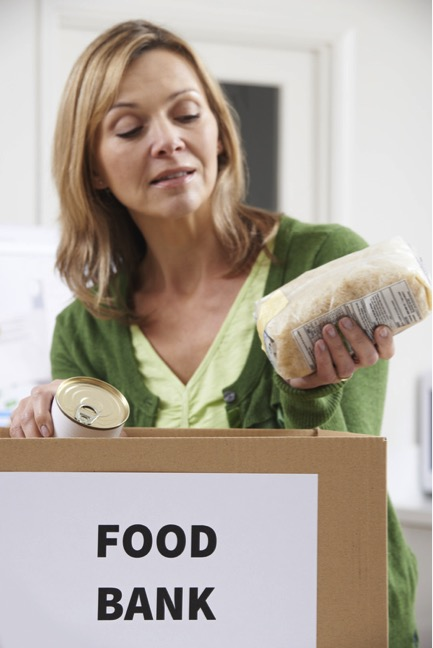 food bank vs. food pantry