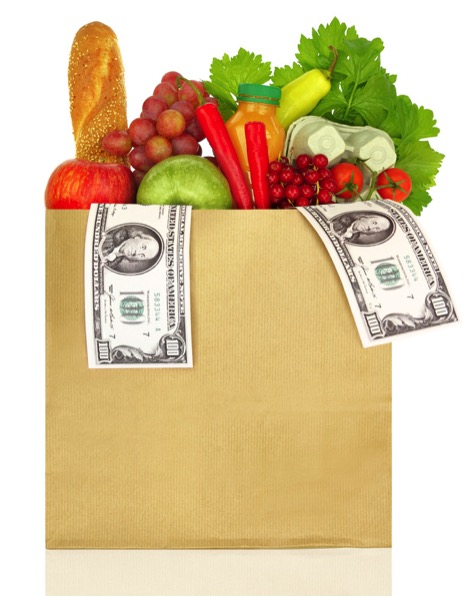 grocery bag for $4 per day